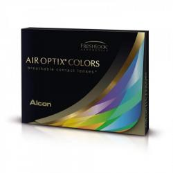 Alcon / Ciba Vision Air Optix Colors Blue - monthly blue colored contact lenses blue - 30 wears (2 lenses / box)