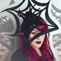 Auva Vision Crazy Halloween Red Manson - yearly Halloween contact lenses - 365 wears (2 lenses / box)