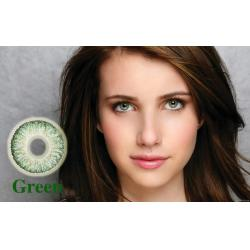Alcon / Ciba Vision Freshlook Colorblends Green - green colored contact lenses - monthly - 30 wears (2 lenses / box)