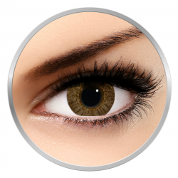 Alcon / Ciba Vision Freshlook Colorblends Pure Hazel - monthly hazel colored contact lenses - 30 wears (2 lenses / box)
