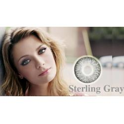 Alcon / Ciba Vision Freshlook Colorblends Sterling Gray - monthly gray colored contact lenses - 30 wears (2 lenses / box)