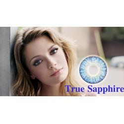 Alcon / Ciba Vision Freshlook Colorblends True Sapphire -  monthly sapphire colored contact lenses - 30 wears (2 lenses / box)