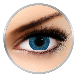 Alcon / Ciba Vision Freshlook Colors Blue - monthly blue colored contact lenses - 30 wears (2 lenses / box)