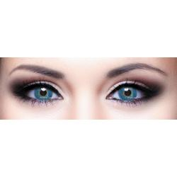 Alcon / Ciba Vision Freshlook Dimensions Pacific Blue - monthly blue colored contact lenses - 30 wears (2 lenses / box)