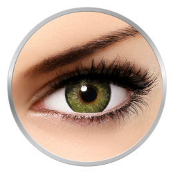 Alcon / Ciba Vision Freshlook One Day Green - daily green colored contact lenses - 5 wears (10 lenses / box)