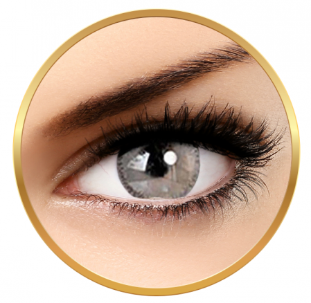 Adore Bi Tone Grey - colored contact lenses on a quarterly basis - 90 wears (2 lenses / box)