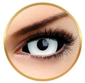 ColourVUE Sclera Medusa – White Contact Lenses yearly - 185 wears (2 lenses/box)