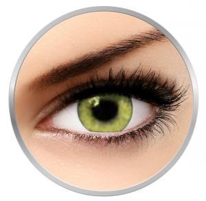 Soleko Queen's Twins Yellow - Yellow Contaact Lenses monthly - 30 wears (2 lenses/box)