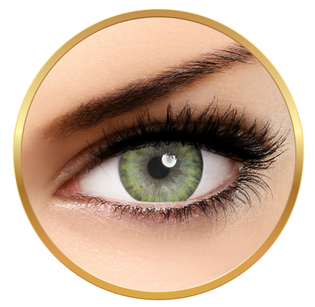 Adore Pearl Yellow - Quarterly Colored Contact Lenses - 90 wears (2 lenses/box)