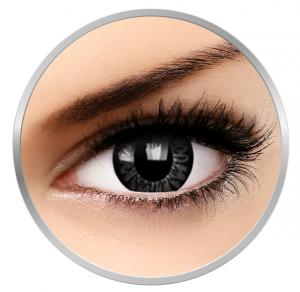 ColourVUE Big eyes Awesome Black - Black Contact Lenses quarterly - 90 wears (2 lenses/box)