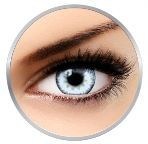 Soleko Queen's Trilogy Pearl - White Contact Lenses monthly- 30 wears (2 lenses/box)