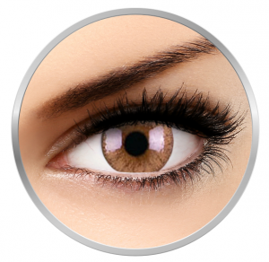 ColourVUE Cheerful Woody Brown - Brown Contact Lenses monthly - 30 wears (2 lenses/box)