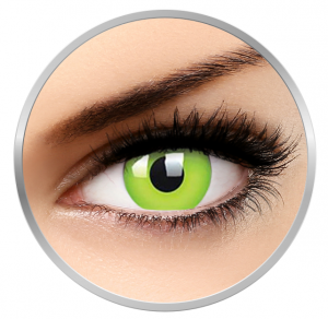 Phantasee Fancy UV Green - Green Contact Lenses yearly - 360 wears (2 lenses/box)