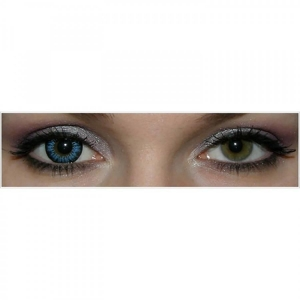 MaxVue Vision Enchanter Blue - Colored Contact Lenses quarterly - 90 wears (2 lenses / box)