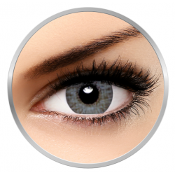 Alcon / Ciba Vision Air Optix Colors Sterling Gray - contact lenses colored gray - 30 wears (2 lenses / box)
