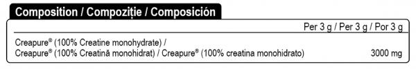 BETTER Creatine CREAPURE® quality - pudră [1]