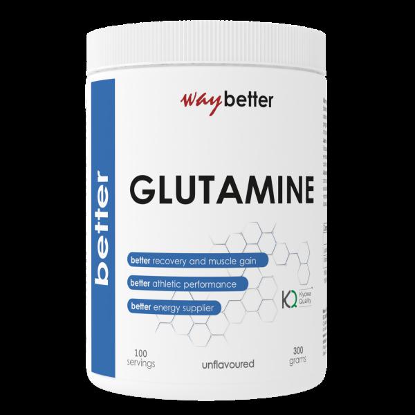 BETTER Glutamine KYOWA QUALITY (KQ)® 0