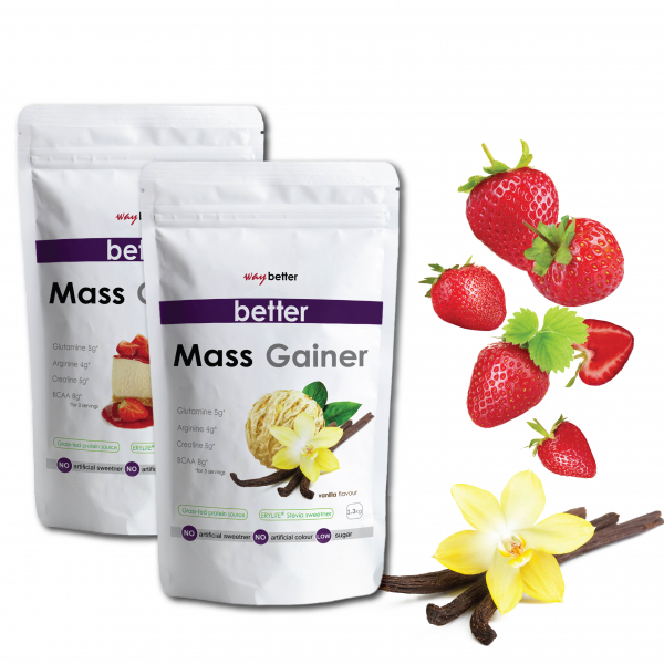 BETTER Mass Gainer x 2 buc 3