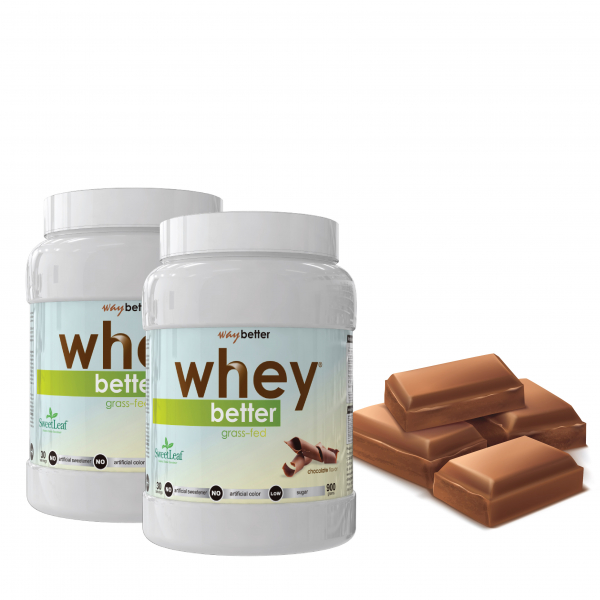 2 x 900gr WHEY BETTER Concentrat Proteic 0