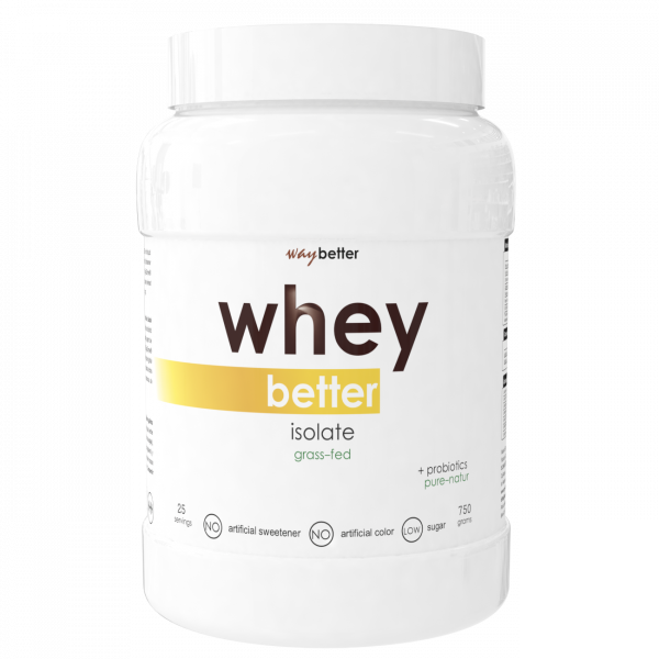 Whey BETTER Isolate - grass-fed protein 0