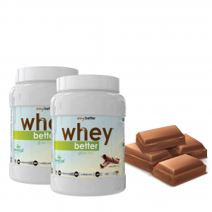2 x 900gr WHEY BETTER Concentrat Proteic0