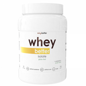 Whey BETTER Isolate - grass-fed protein0