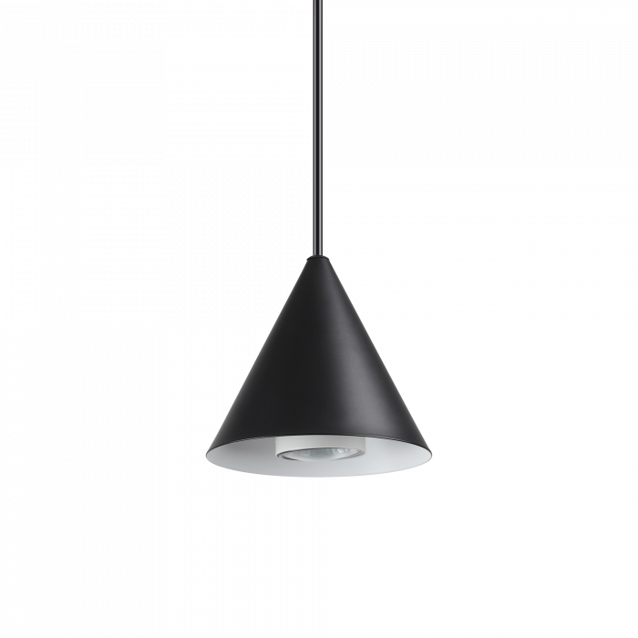 LUSTRA SIMPLA MODERNA - A-LINE SP1 SMALL NERO - IDEAL-LUX [0]