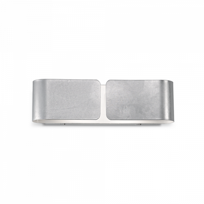 APLICA MODERNA CLIP AP2 SMALL ARGENTO - IDEAL-LUX [0]