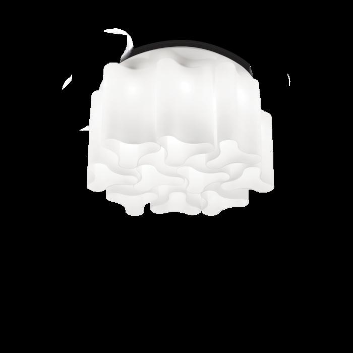 PLAFONIERE MODERNE COMPO PL10 BIANCO- IDEAL-LUX [0]
