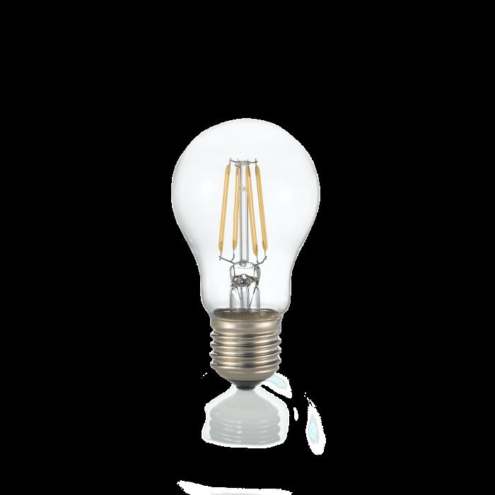 LAMPADINA CLASSIC E27 8W GOCCIA TRASPARENTE 3000K [0]