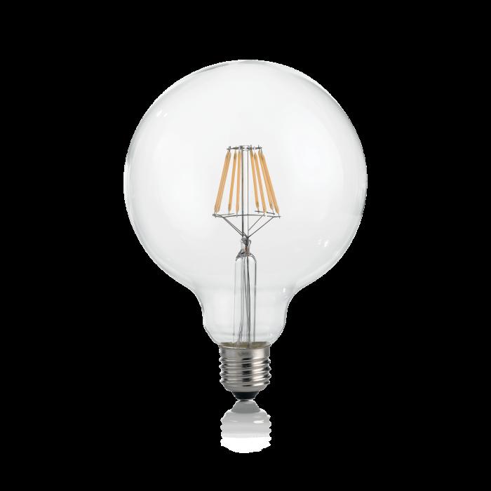 LAMPADINA CLASSIC E27 8W GLOBO D125 TRASP 4000K [0]