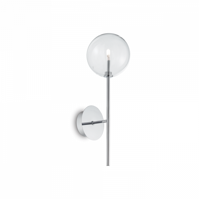 APLICA CLASICA EQUINOXE AP1 CROMO - IDEAL-LUX [0]