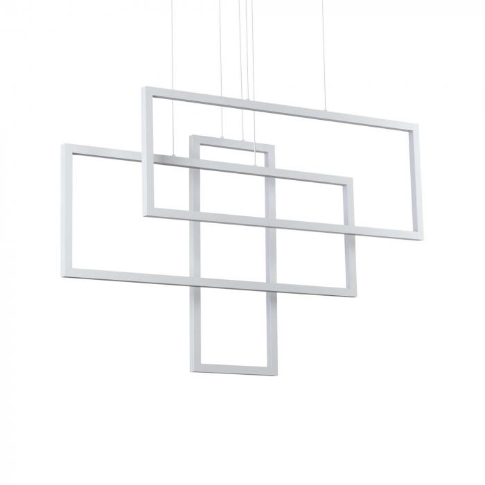 SUSPENSIE MODERNA CU LED FRAME SP DREPTUNGHI - IDEAL-LUX [0]