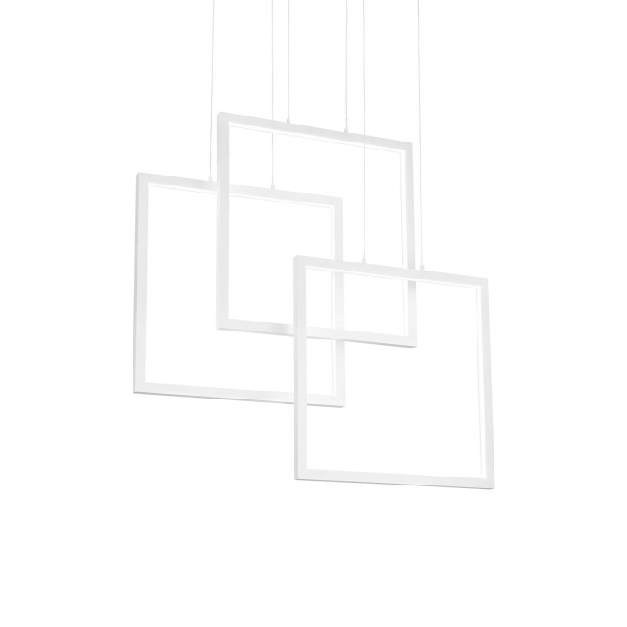 SUSPENSIE MODERNA CU LED FRAME SP SQUARE - IDEAL-LUX [0]