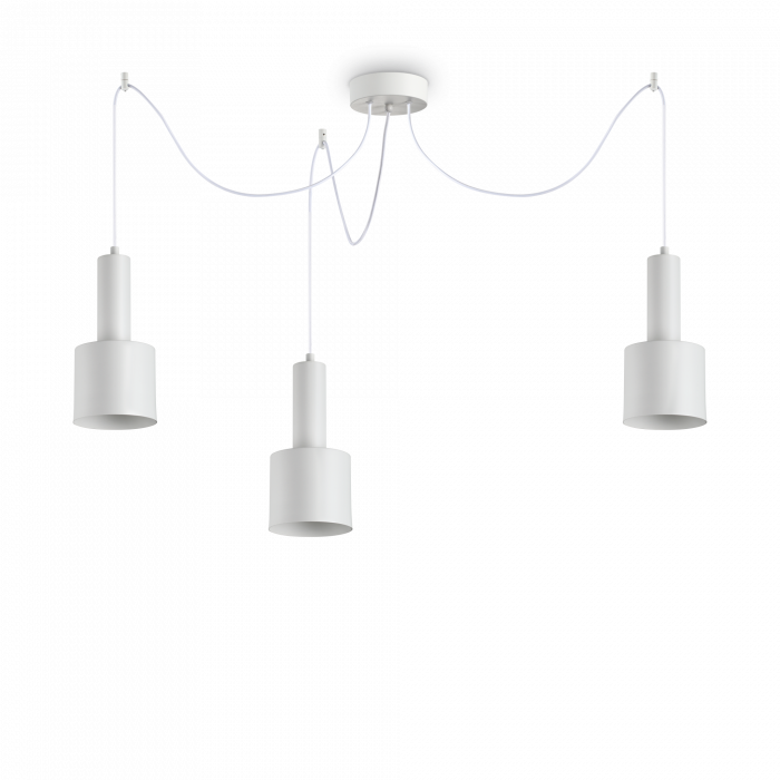 SUSPENSIE MODERNA HOLLY SP3 BIANCO IDEAL-LUX [0]