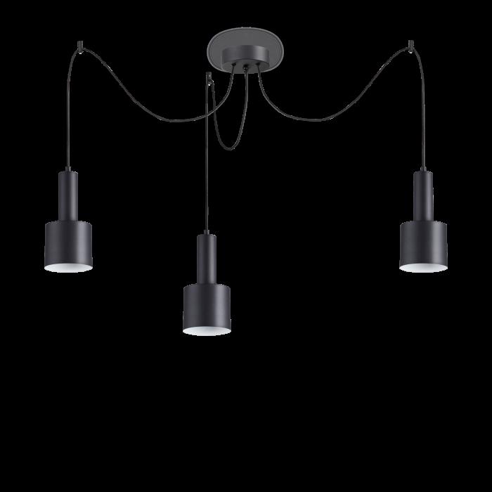SUSPENSIE MODERNA HOLLY SP3 NERO IDEAL-LUX [0]