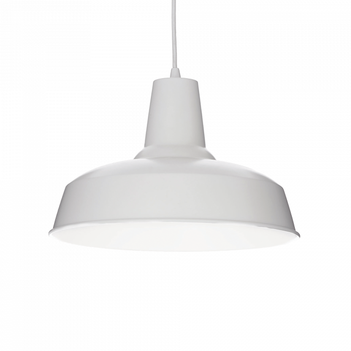 LUSTRA SIMPLA CLASIC- RUSTIC MOBY SP1 BIANCO - IDEAL-LUX [0]