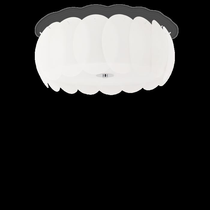 PLAFONIERA MODERNA OVALINO PL8 - IDEAL-LUX [0]