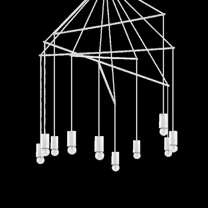 SUSPENSIE MODERNA POP SP10 BIANCO IDEAL-LUX [0]