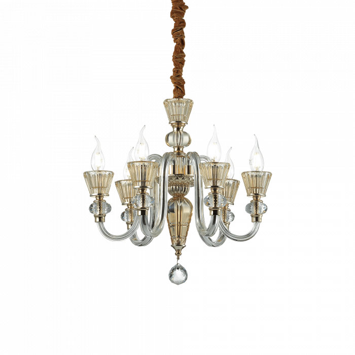 LUSTRA CLASICA MURANO STRAUSS SP6 - IDEAL-LUX [0]