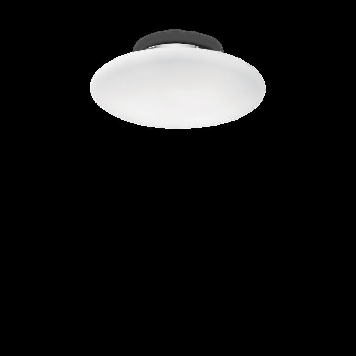 PLAFONIERA MODERNA SMARTIES BIANCO PL1 D30 - IDEAL-LUX [0]