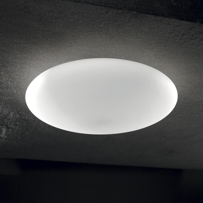 PLAFONIERA MODERNA SMARTIES BIANCO PL3 D50 - IDEAL-LUX [1]