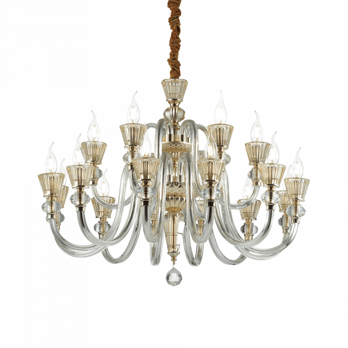 CANDELABRE CLASICE MURANO STRAUSS SP18 - IDEAL-LUX [0]