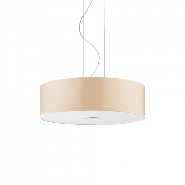 LUSTRA SIMPLA MODERNA WOODY SP4 - IDEAL-LUX [0]