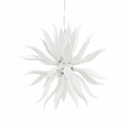 SUSPENSIE MODERNA LEAVES SP12 BIANCO - IDEAL-LUX [0]