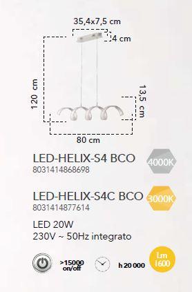 LED HELIX SP4 - BIANCO [1]