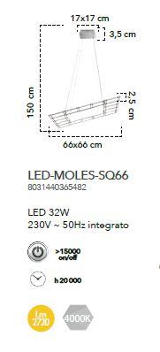 SUSPENSIE MODERNA MOLES SQ66 [3]