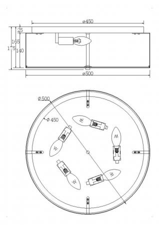 PLAFONIERA RIPPLE PL5 [1]