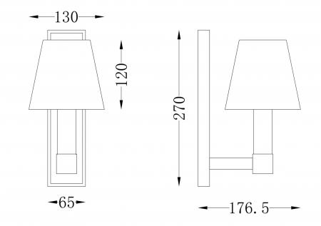 APLICA TET A TET 1 BEC - MOD104WL-01B MAYTONI [1]
