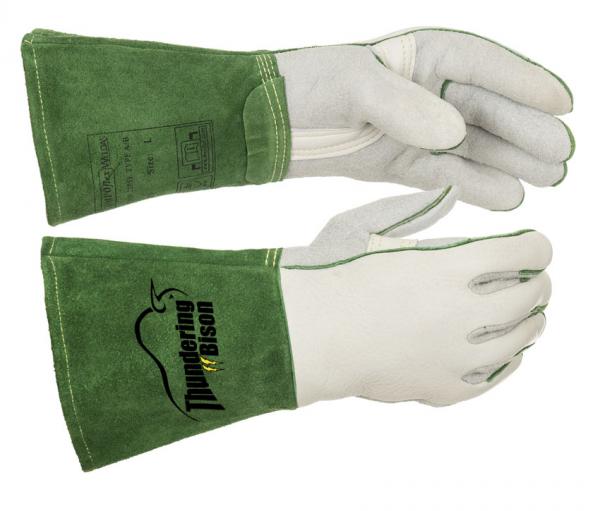 10-2655-ThunderingBison™ mănuşă de sudură cu întăritură în palmă 0